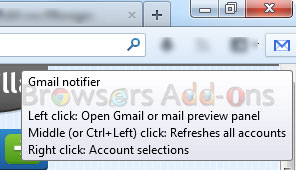 gmail-notifier-firefox-shortcut-commands