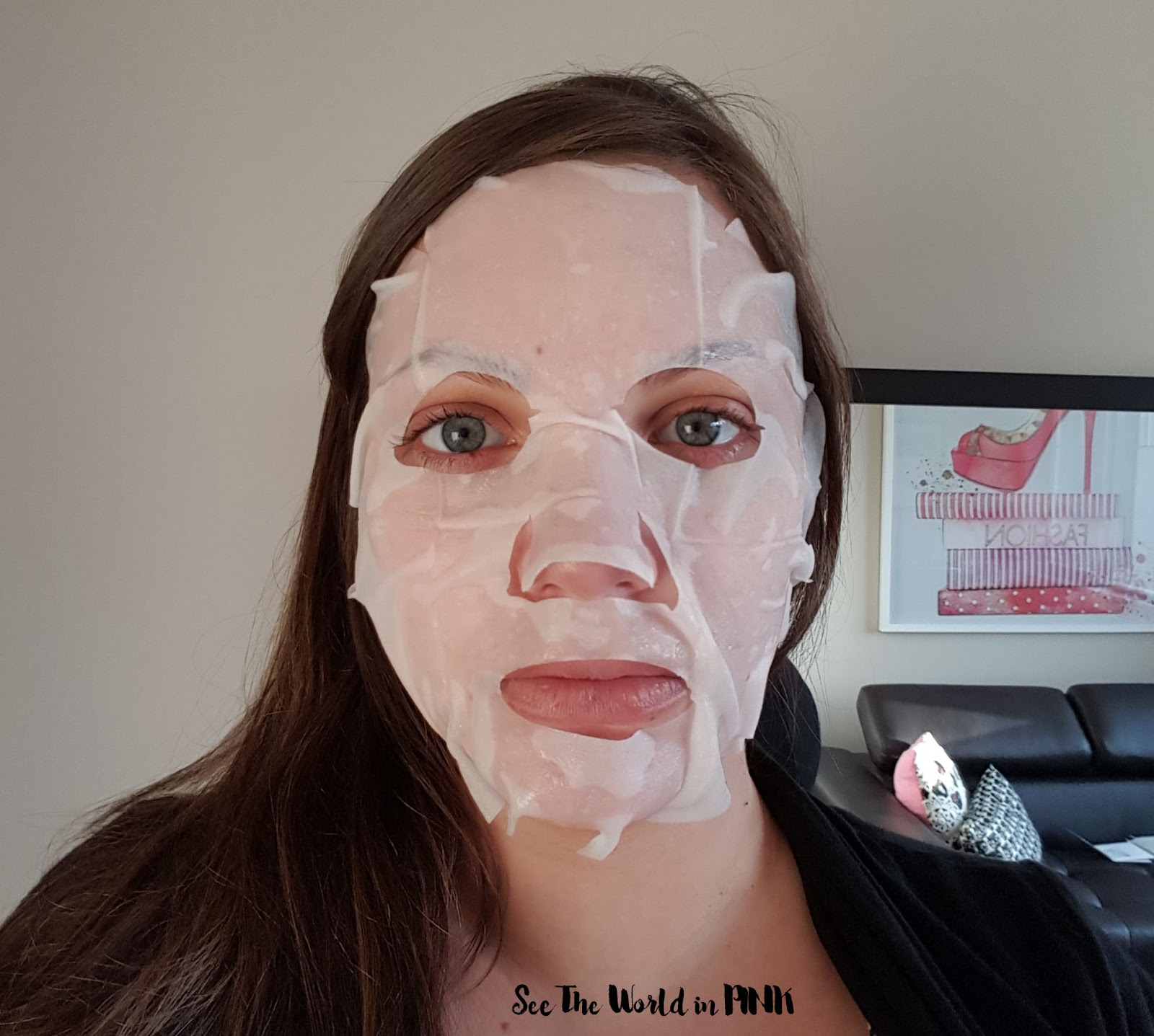 "Mask Wednesday - The Face Shop Real Nature Face Mask ""Peony"""