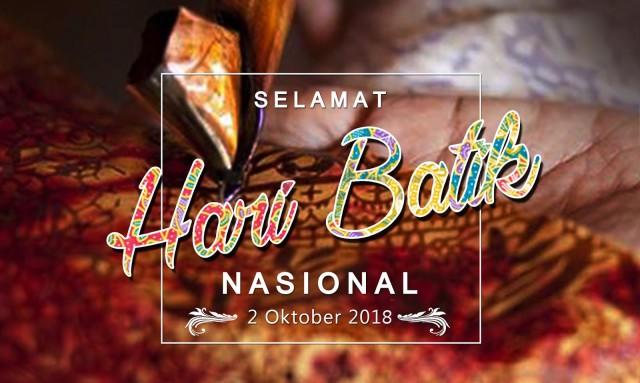 Ucapan Selamat Hari Batik Nasional