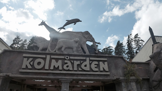 Photo of Kolmarden Zoo Entrance Sign in Sweden