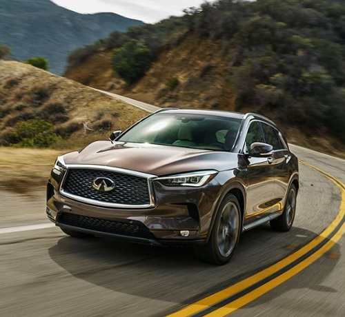 Infiniti car review spec  used and new