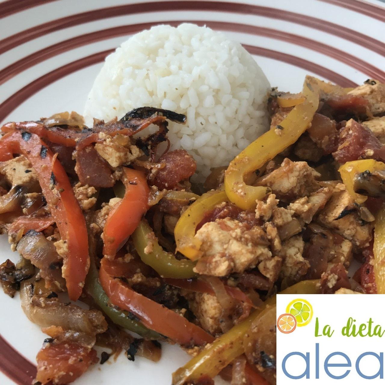 Comidas del mundo ix arroz blanco con pollo y pimientos - Comidas con arroz blanco ...