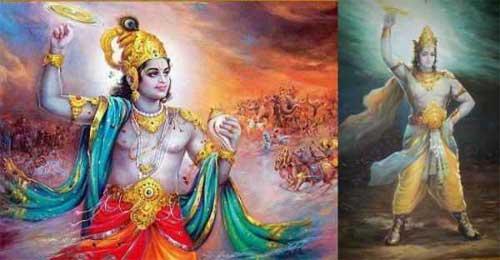 Krishna - King Muchukunda - Kalayavana