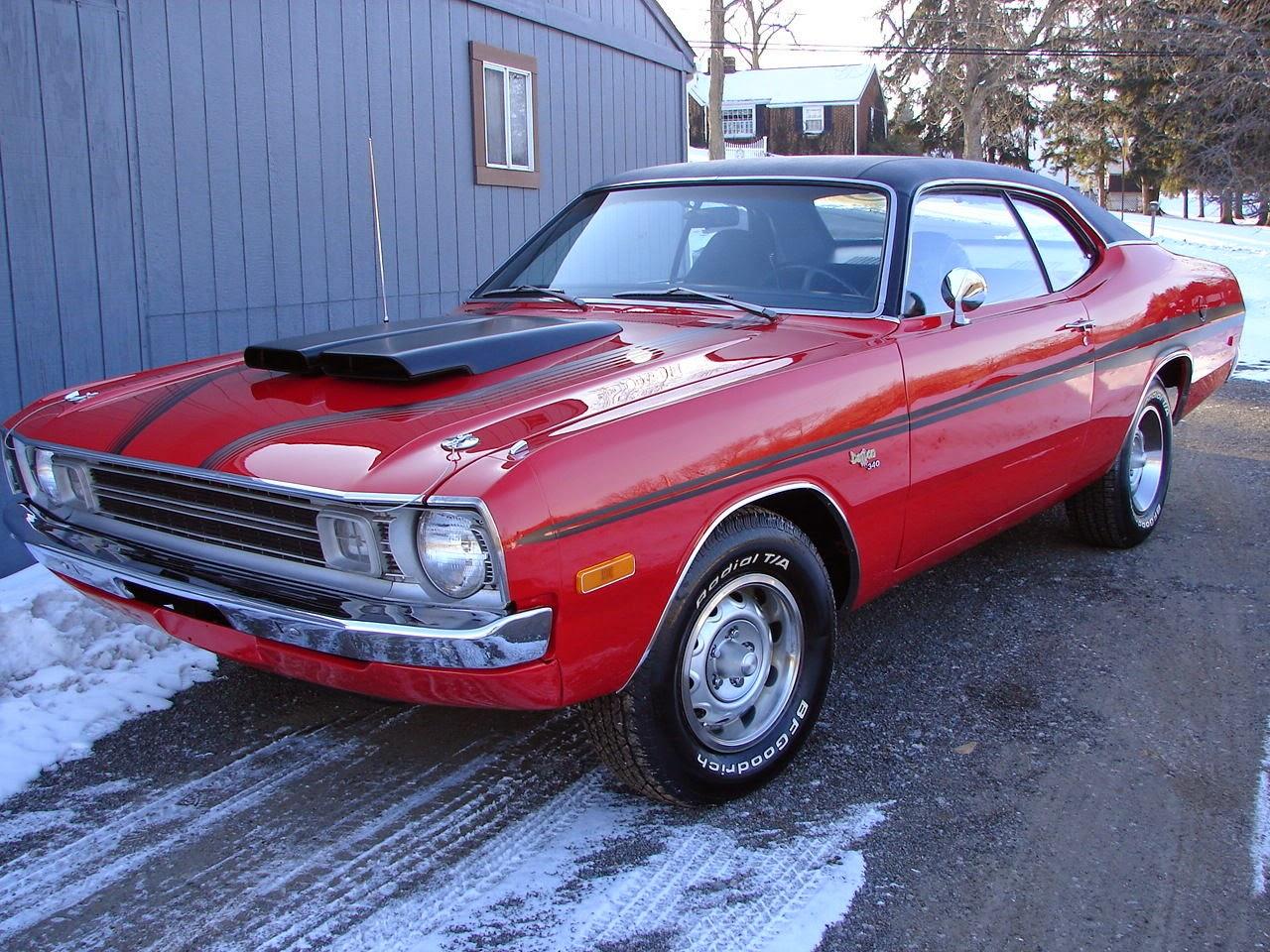 All American Classic Cars: 1972 Dodge Dart Demon 340 2 ...