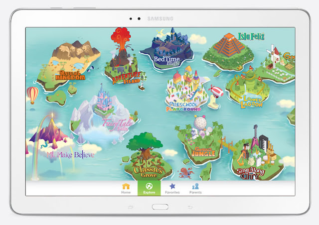 book ap for kids with thousands of ebooks