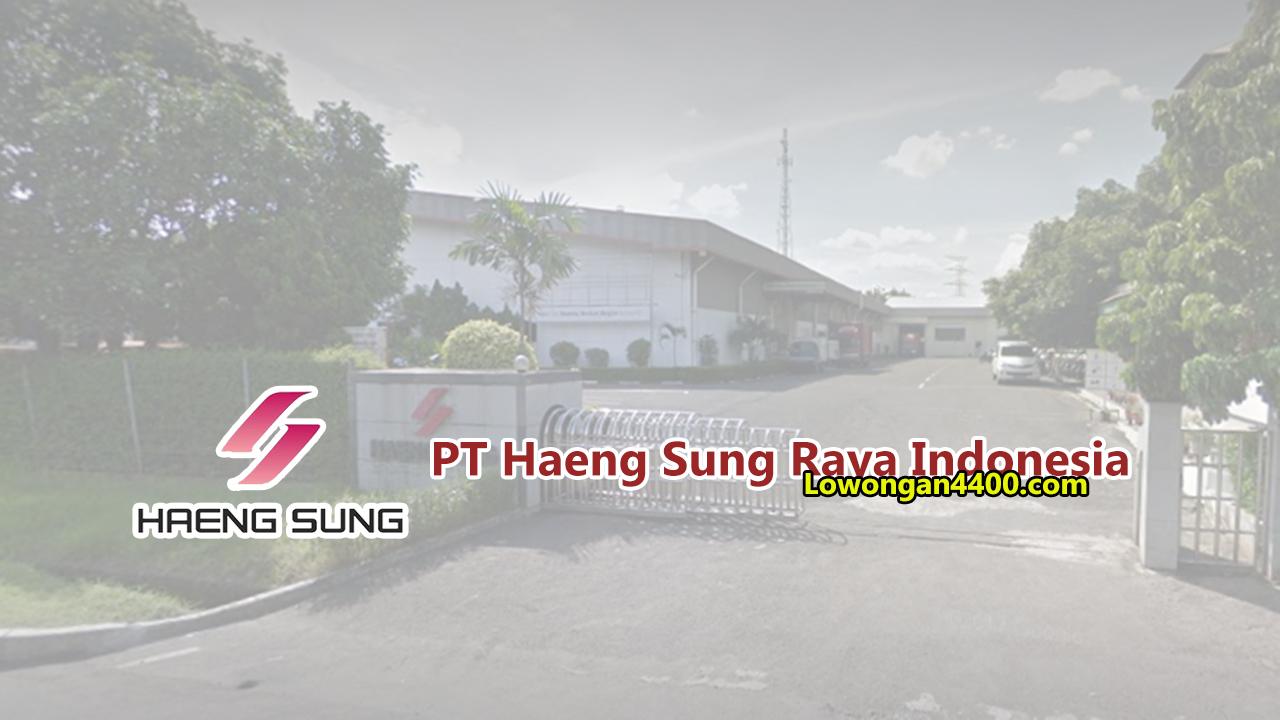 PT. Haeng Sung Raya Indonesia Cikarang
