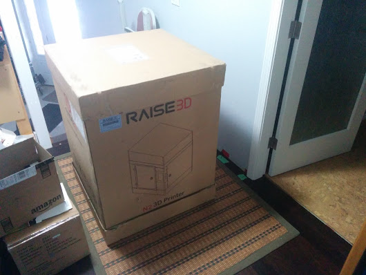 Raise3D N2 Printer - Unpacking and First Print