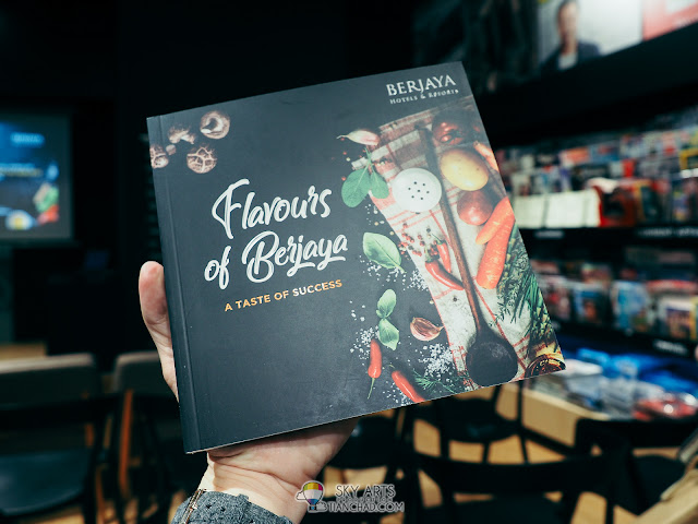'Flavours of Berjaya' now available in selected bookstore outlets nationwide and Berjaya Hotels and Resorts