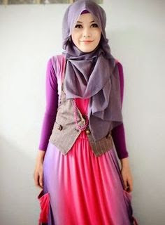 Baju Muslim Cantik dan Elegan Modern