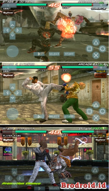 Download Tekken 6 For Android PSP ISO/CSO High Compress