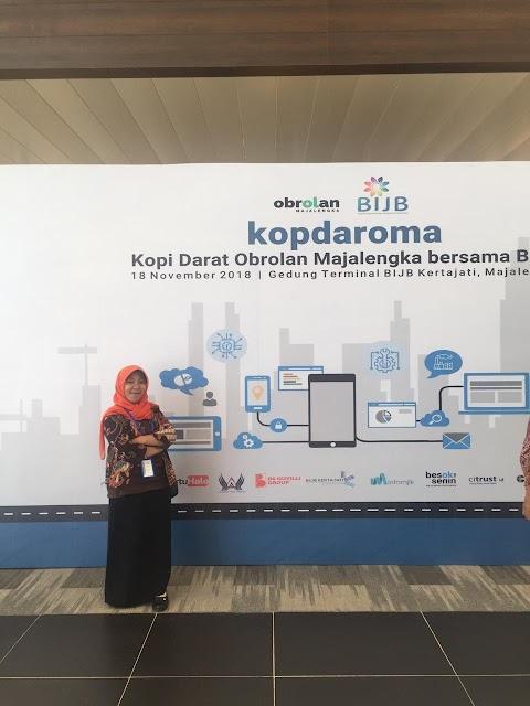 Acara Kopi Darat Obrolan Majalengka (Kopdaroma) Bersama Bandar Udara Internasional Jawa Barat (BIJB)