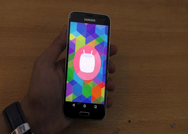 Cyanogenmod 13 marshmallow update Samsung Galaxy S5