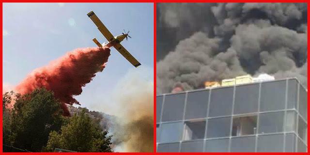 لن تتخيل السبب الحقيقي في فشل الحكومة آلإسرائيلىة في السيطرة على الحرائق