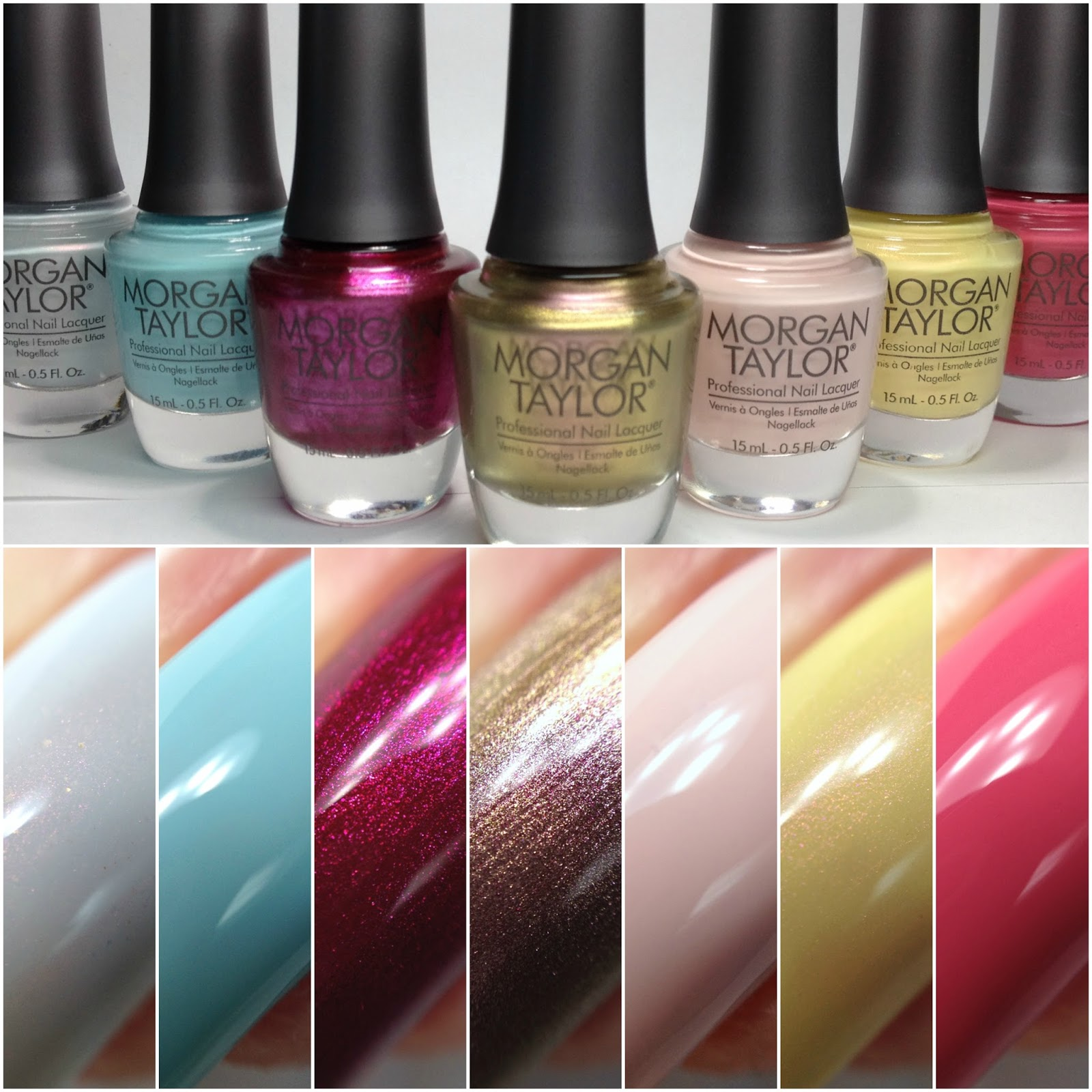 Tonight I Have The New Beauty And Beast Inspired Collection By Morgan Taylor To Share With You This Consist Of Seven Polishes In A Few