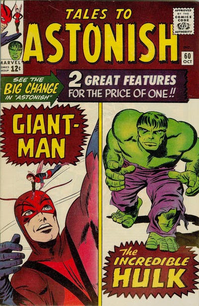Tales to Astonish #60, Giant-Man and The Hulk