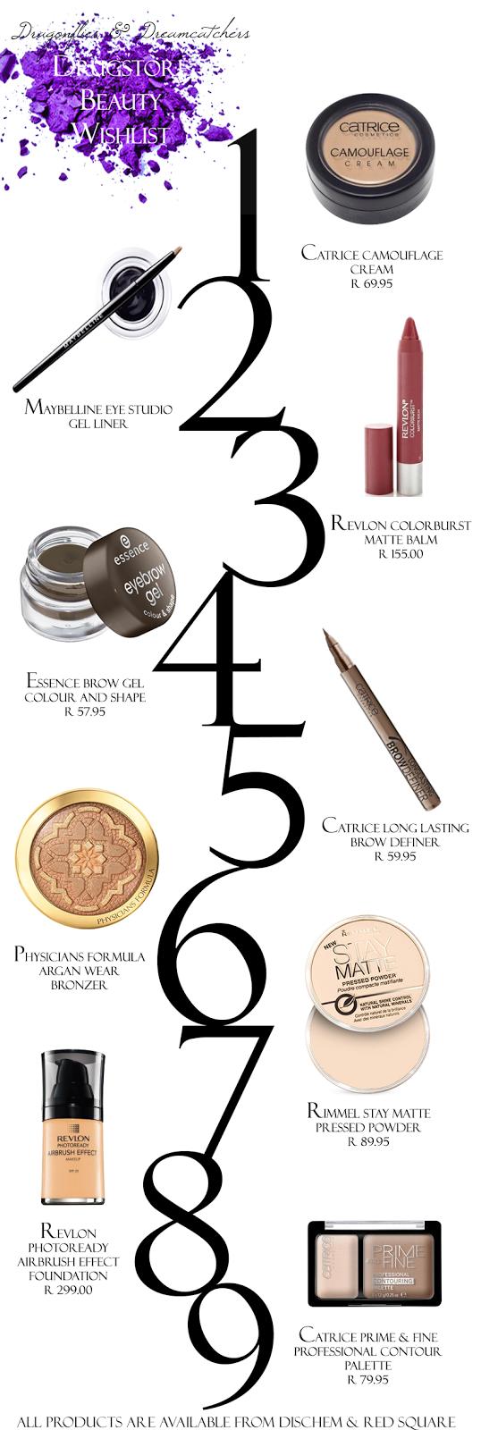 drugstore beauty items I want