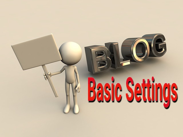 How to Manage Basic Settings in Blogger.