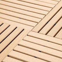 Greatmats GreatDeck wood look pool deck