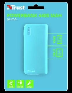 Trust caricabatterie portatile 4400mah 22057