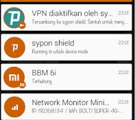 Cara Internet Gratis Dengan Syphon Shield Elite di Android