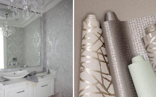 Marzua el color metalizado en decoraci n - Mezclar colores para pintar paredes ...