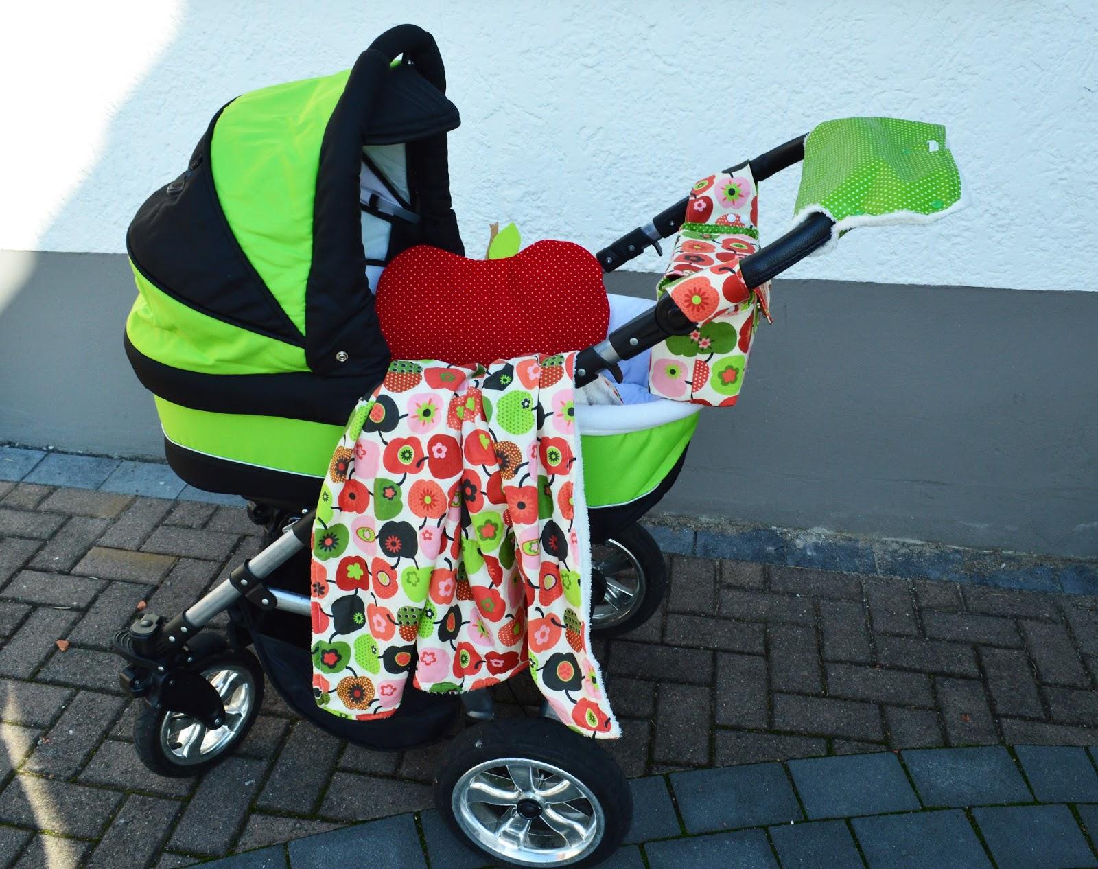 ideenwiese kinderwagen set tasche decke kissen. Black Bedroom Furniture Sets. Home Design Ideas