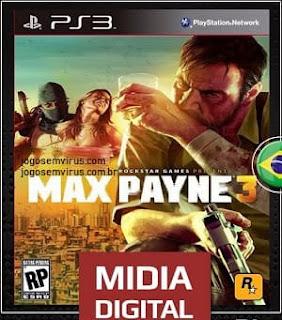 Baixar Grátis o jogo Max Payne 3 PS3 Em Português Pt-Br