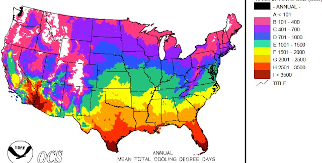 Cliff Mass Weather And Climate Blog May - Us summer temperature map