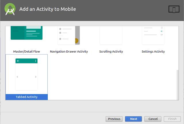 tab activity