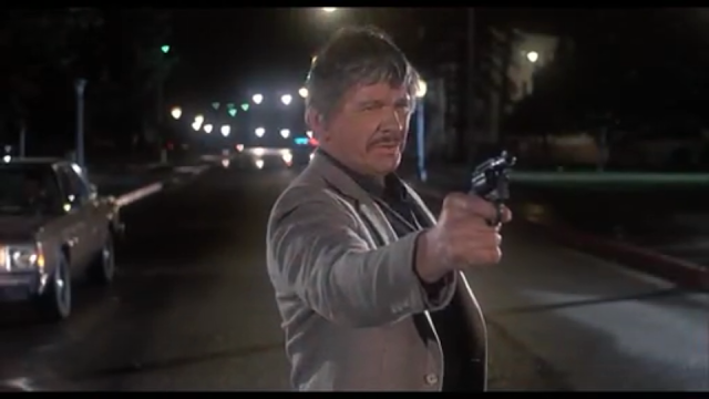 Charles Bronson aims to wipe the scum off the street in 10 TO MIDNIGHT (1983)