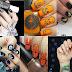 Paznokcie na Halloween. Halloweenowe zdobienia paznokci. Wzorki na paznokcie halloweenowe. Zdjęcia i inspiracje.