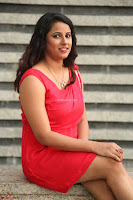 Shravya Reddy in Short Tight Red Dress Spicy Pics ~  Exclusive Pics 114.JPG