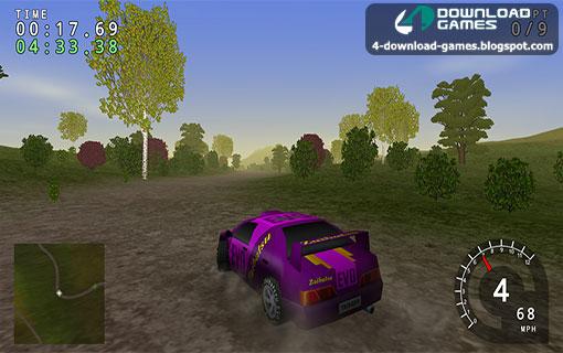 لعبة سباقات الرالي Trigger Rally