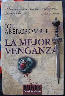 Portada del libro La mejor venganza, de Joe Abercrombie