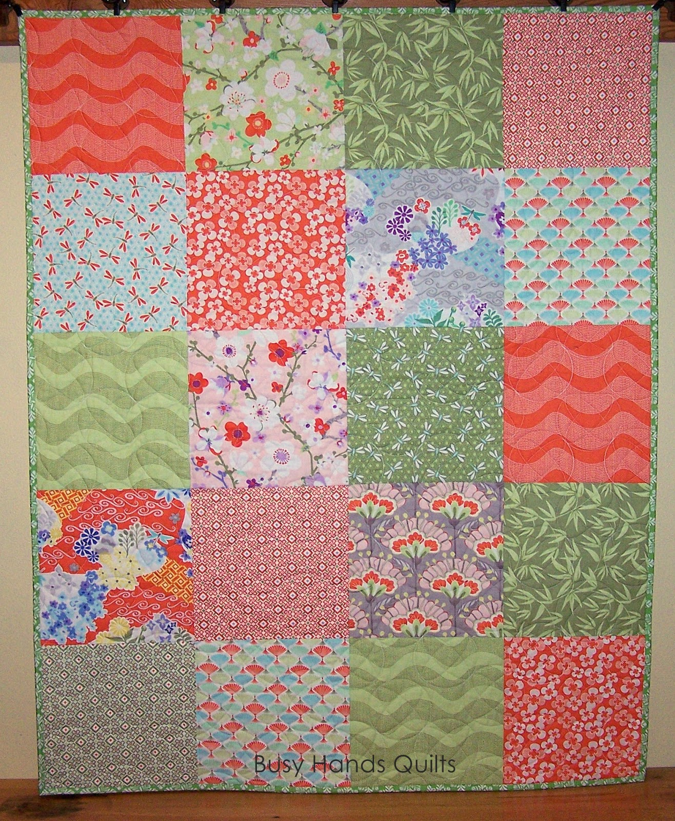 Baby Quilts.com Busy Hands Quilts Good Fortune Baby Quilt Finished Or Not