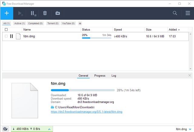 تحميل برنامج التحميل المجاني فري داونلود منجر Free Download Manager 5.1.34 آخر إصدار