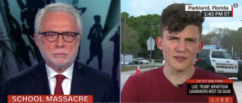 NRA is 'basically killing children' says student at marjory stoneman douglas