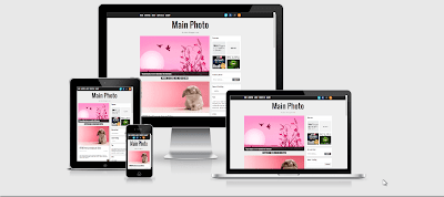 Main Photo Template Blogger Responsive Gratis Terbaik