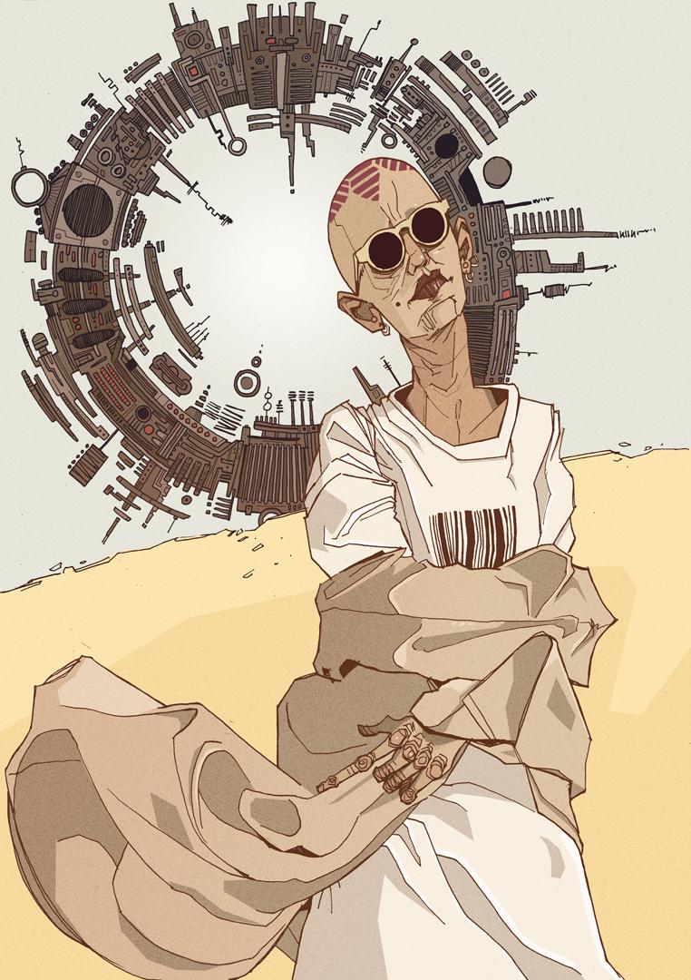 sci fi artwork