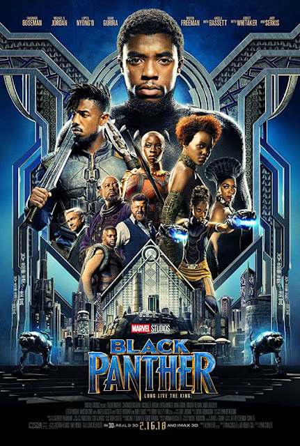 Poster Black Panther 2018 Full Movie Download Dual Audio Hindi HD 720p