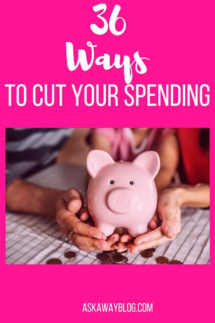 36 Ways to Cut Spending