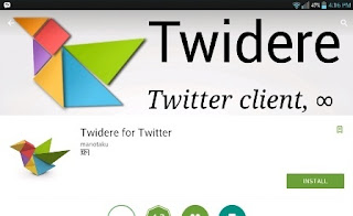 BestTwitter App untuk Android Terbaik (Review 8 Twitter Client)-Twidere