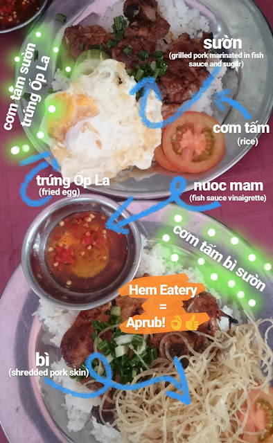 food trip in hem eatery saigon