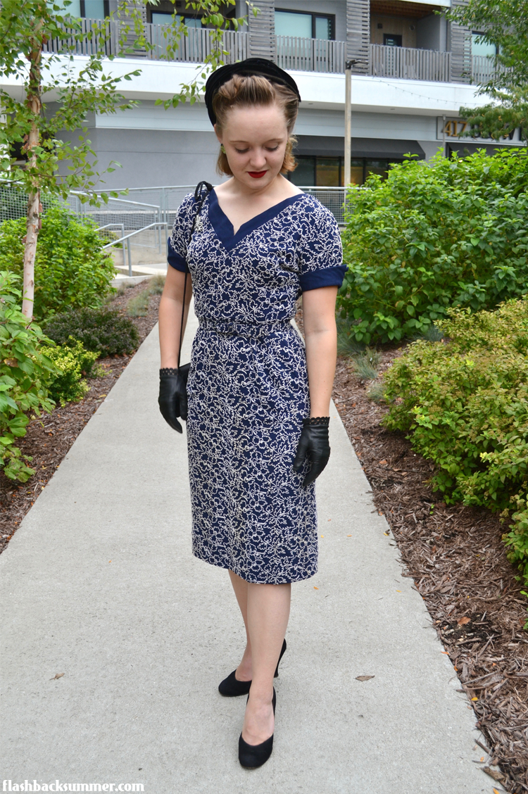 Flashback Summer: Foray into the Fifties - 1950s vintage fashion