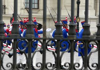 Pałac Prezydencki - Lima - Peru