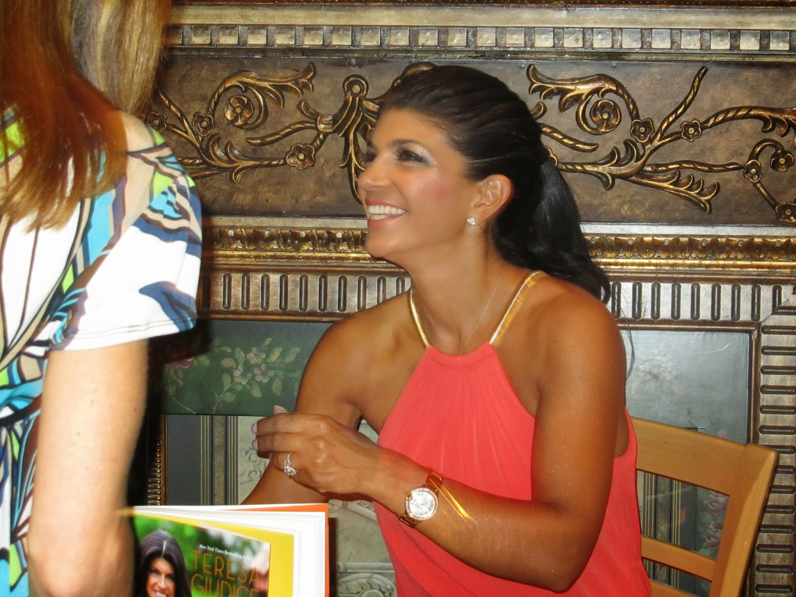 Recently I Had The Opportunity To Meet One Of Most Famous Jersey Girls Teresa Giudice Real Housewives NJ She Was Doing A Book Signing At My