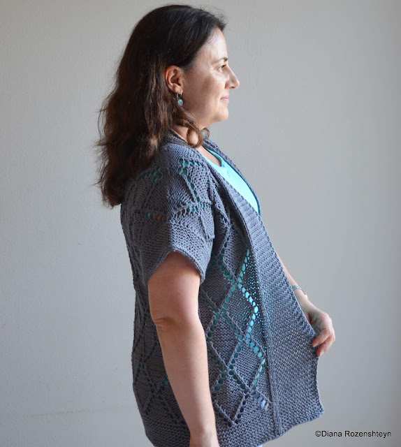 Sunny with a chance of knitting please read below before purchasing this pattern as it is only available in one size to fit actual full bust circumference of 38598 cm with 4 10 fandeluxe Gallery