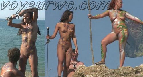 BeachHunters 18378-18411 (Beach Voyeur, Candid, Nude, Topless)