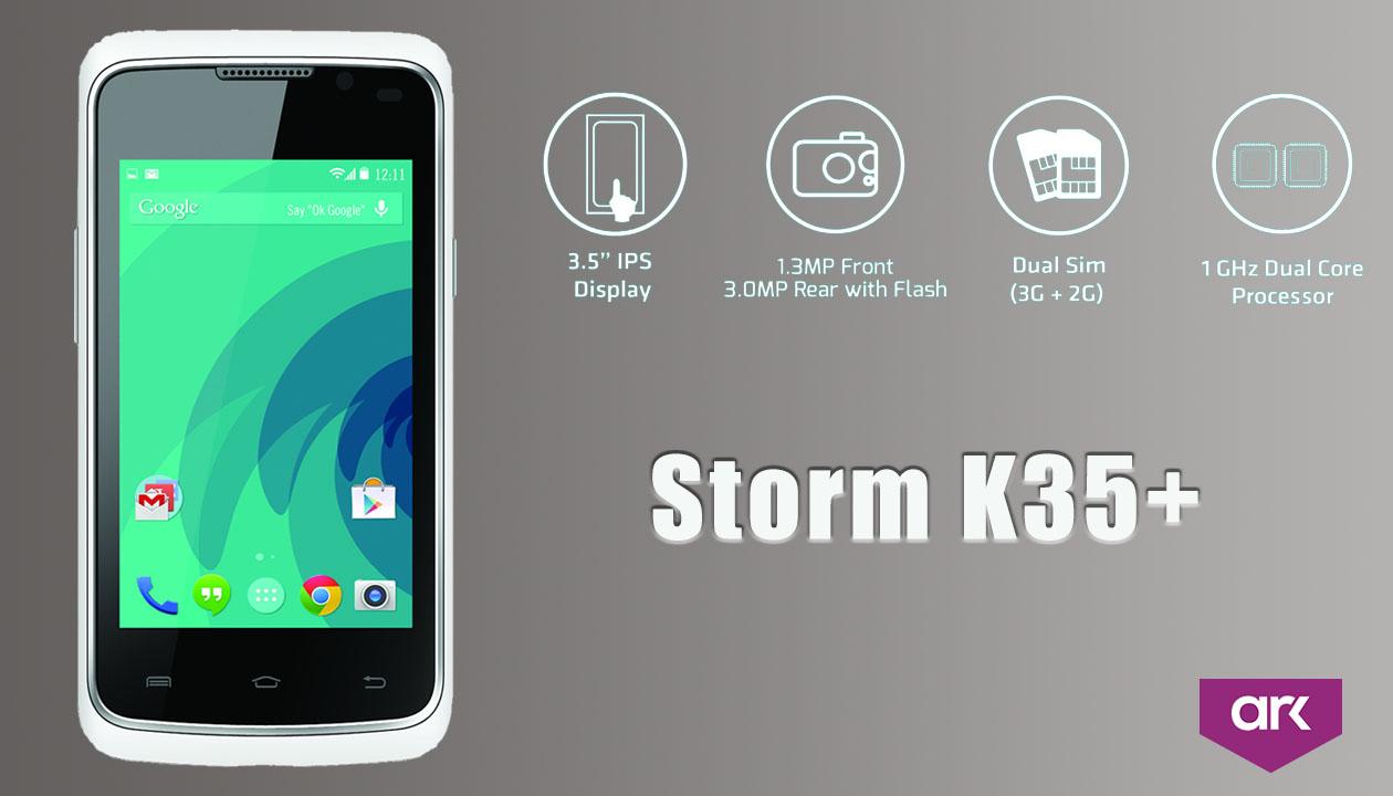 ark storm k35+ mobile
