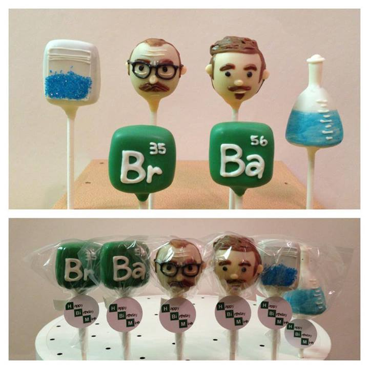 Cake Pops Breaking Bad